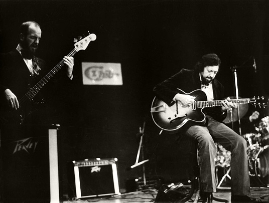 Jim Richardson und Barney Kessel